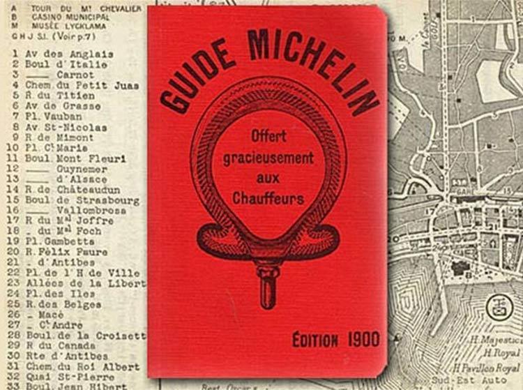 Michelin guide edition 1900 France
