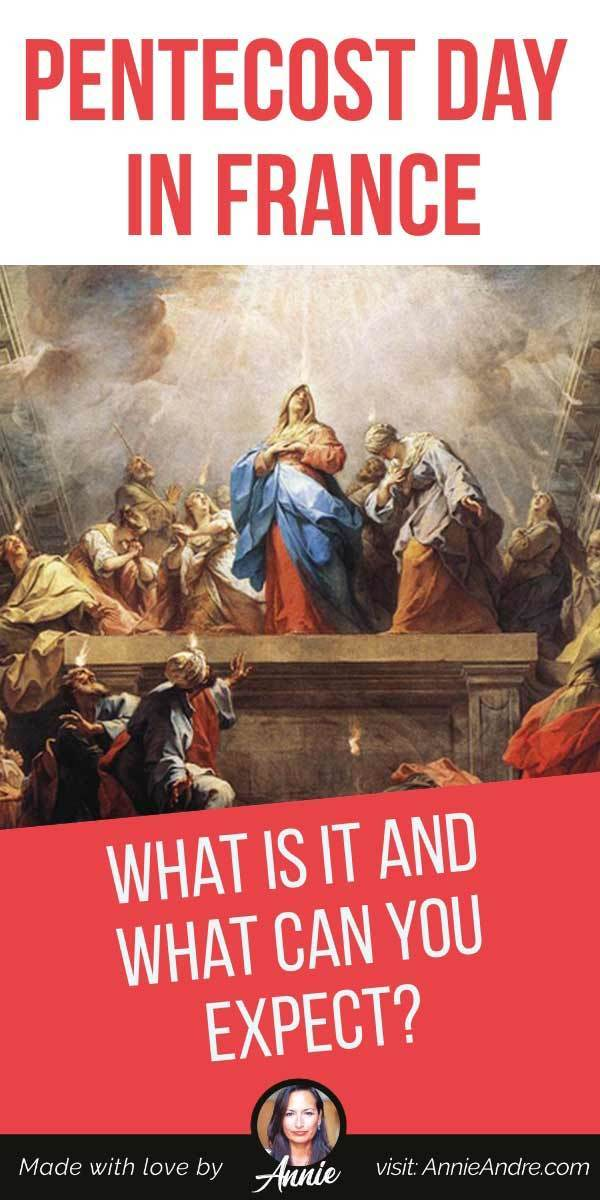 pintrest pin about Pentecost in France