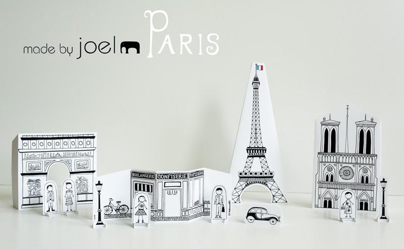 Free printable paper Paris city
