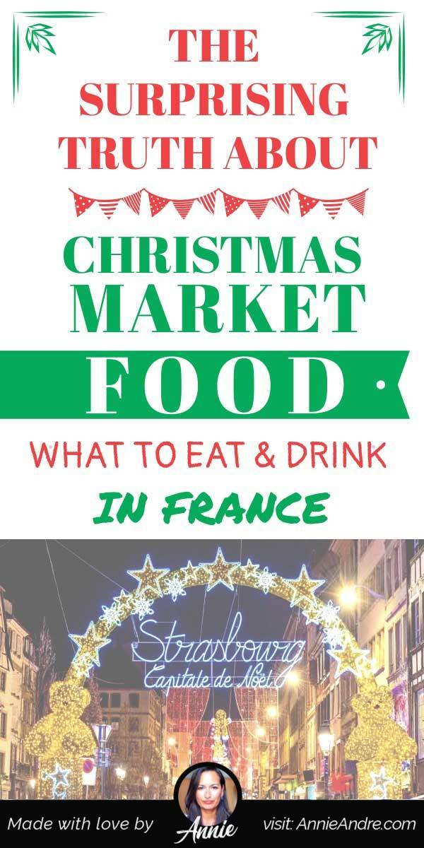 Pin: Surprising Christmas Market Foods In France: what to eat and drink