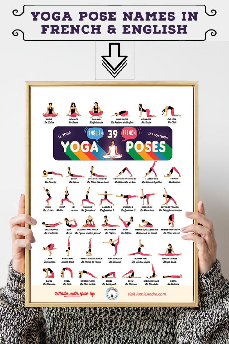 Pin yoga poses french english 13