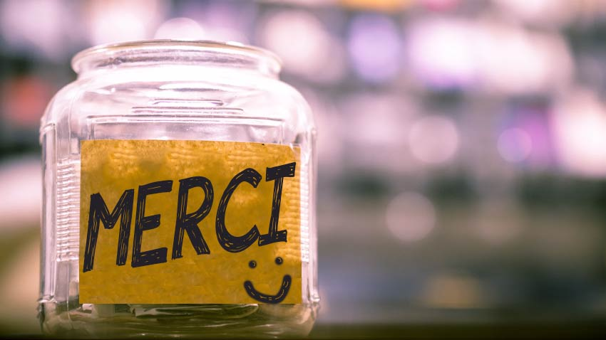French tipping: it's ok to leave some change in the tip jar i France