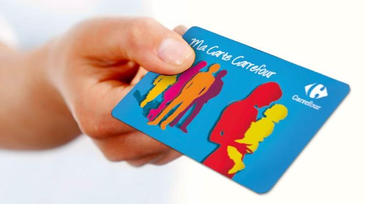 Carrefour fidelity card