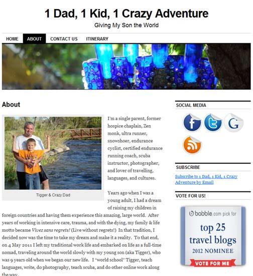 1 dad 1 kid 1 crazy adventure