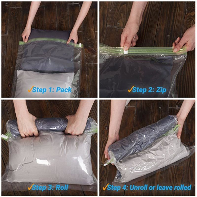 compression-stuff-sacks for packing