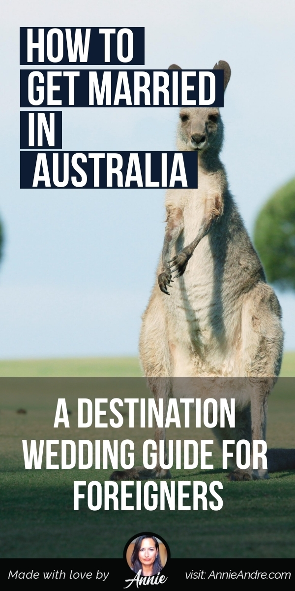 pintrest pin about How To Elope Or Get Married In Australia