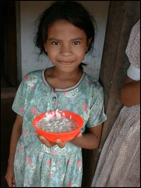 school lunces around the world/Honduras, childrens school lunch