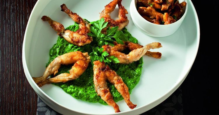 French stereotypes and cliches: Frog legs