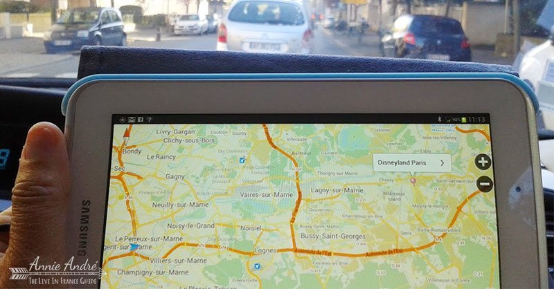 French roadtrip: Bring a gps enabled device