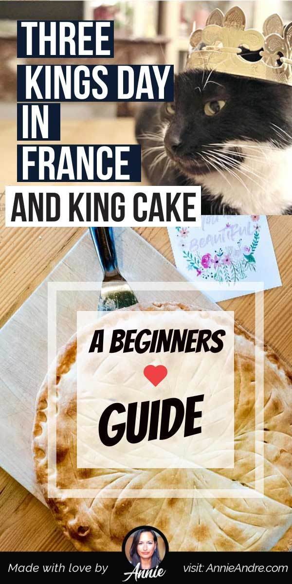 """On January 6th, people across France celebrate Epiphany day aka 3 Kings day by eating King cake """"la galette des Rois"""". Here's how it's celebrated and what to expect."""
