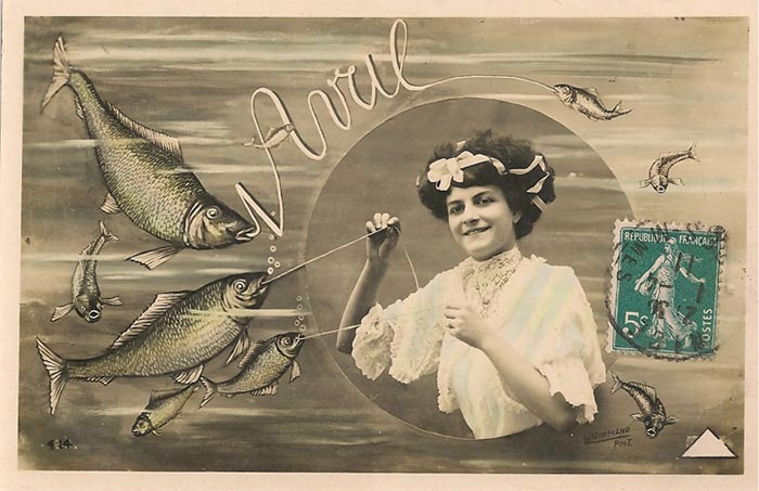 April Fools day in France: Poisson D'Avril