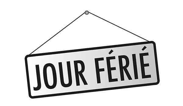 jour-ferie- bank holiday possibly closed