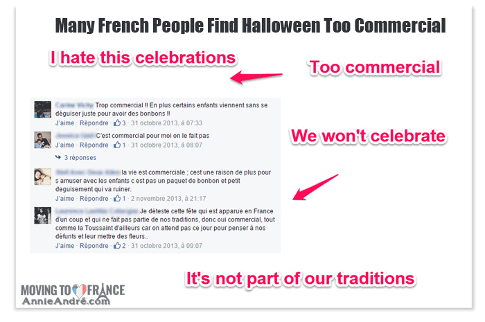 Halloween in France: French people think Halloween is too commercial