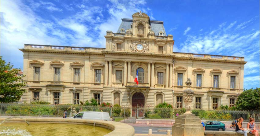 French prefecture in Montpellier
