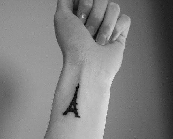 eiffel-tower-wrist-tattoo