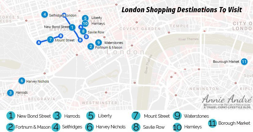 11 London shopping streets that are also tourist attractions