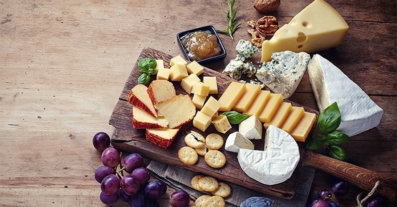 A french cheese plate course is usually expected at a special holiday meal.