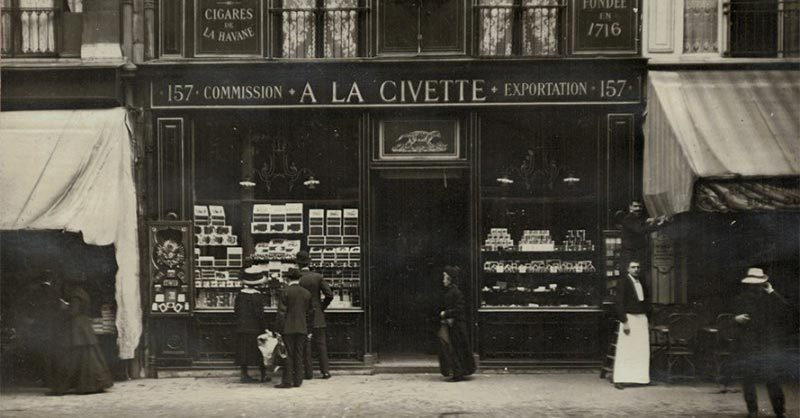 A LA CIVETTE: a fun place for couples to visit in Paris to pick up some cigars