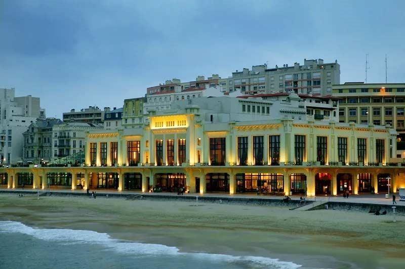 Biarritz public pool France