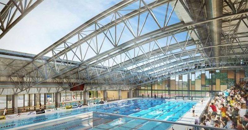Yves Blanc public pool in Aix-en-Provence
