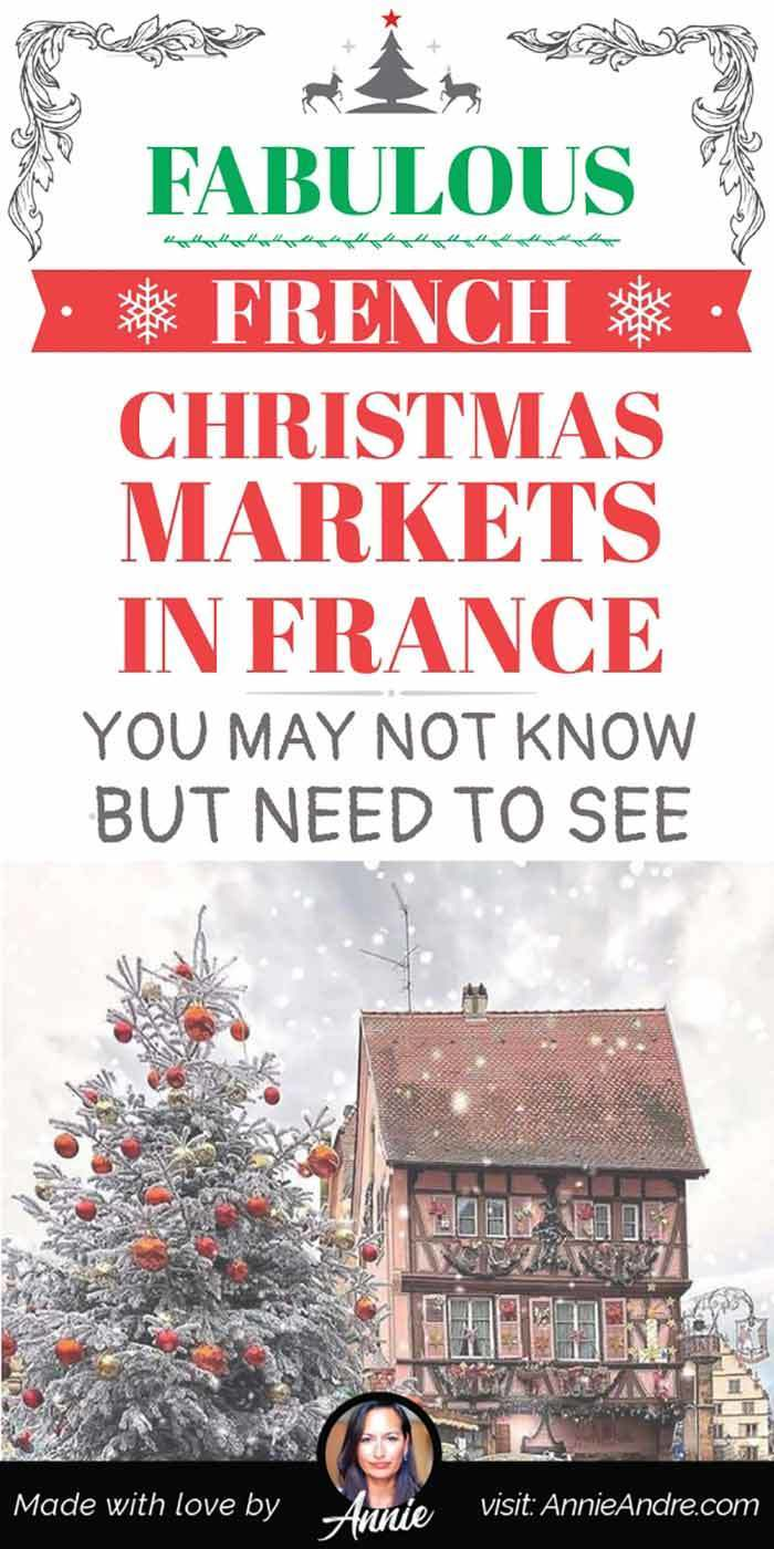 Fabulous French Christmas markets in France you may or may not know about