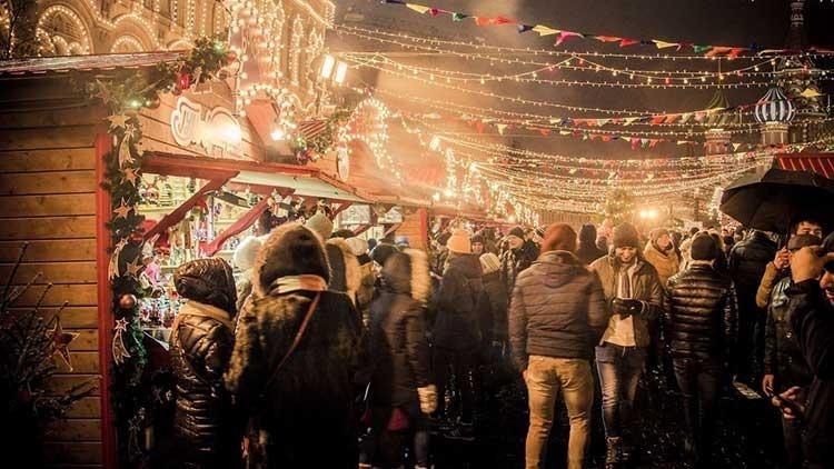 Lyon France, Christmas Market