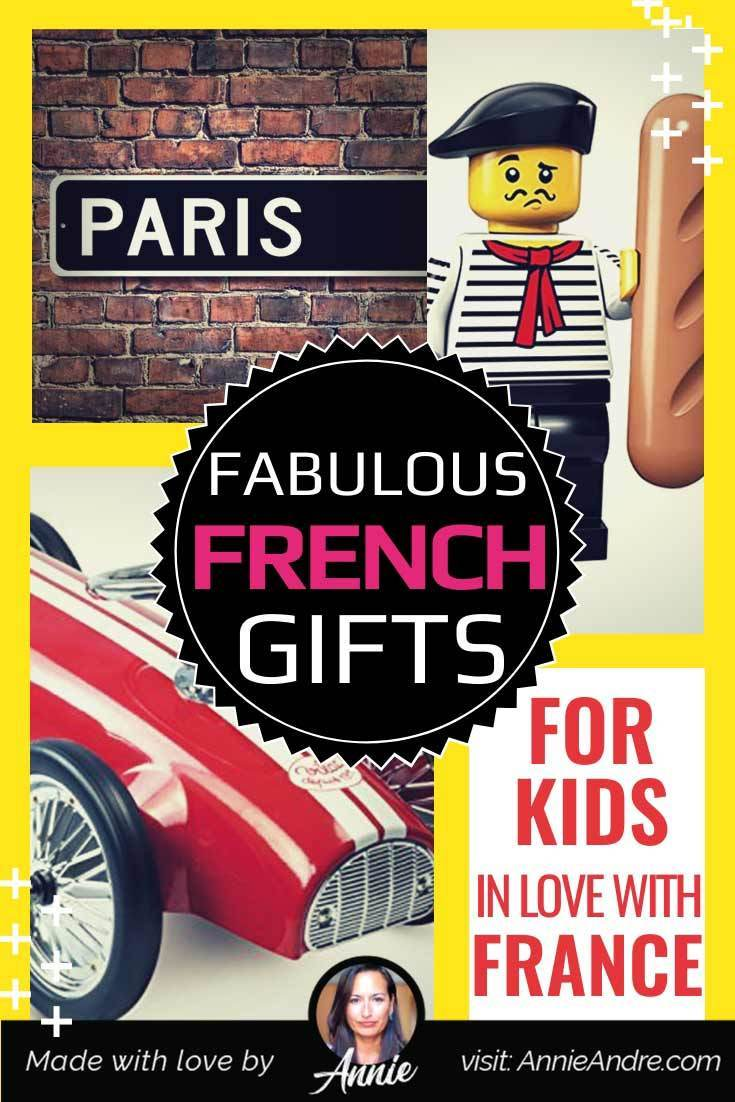 Fabulous French gifts and gift ideas for kids and teens in love with France and travelling