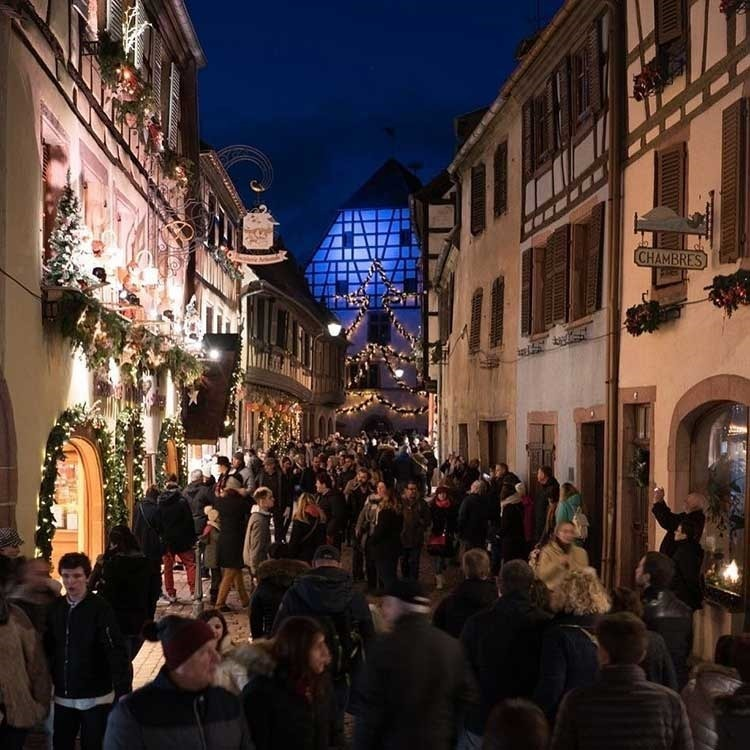 Kaysersberg Christmas Market in France