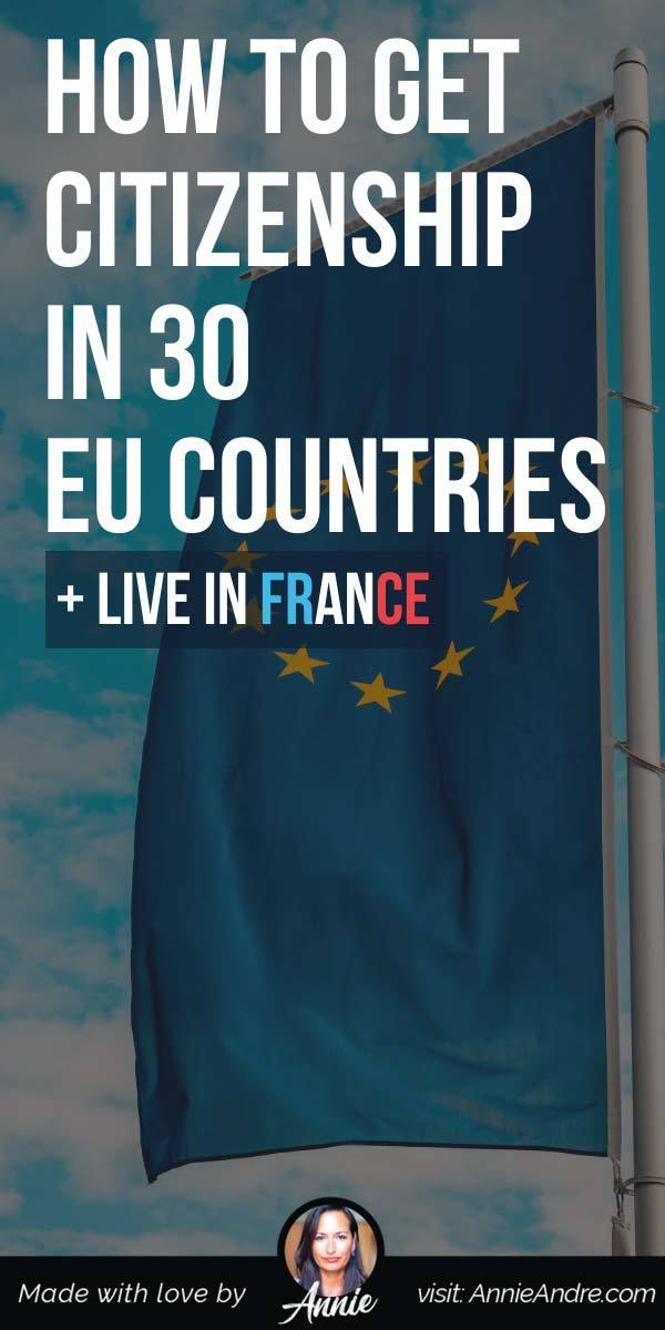 pintrest pin about How To Get Citizenship By Descent To 30 EU Countries