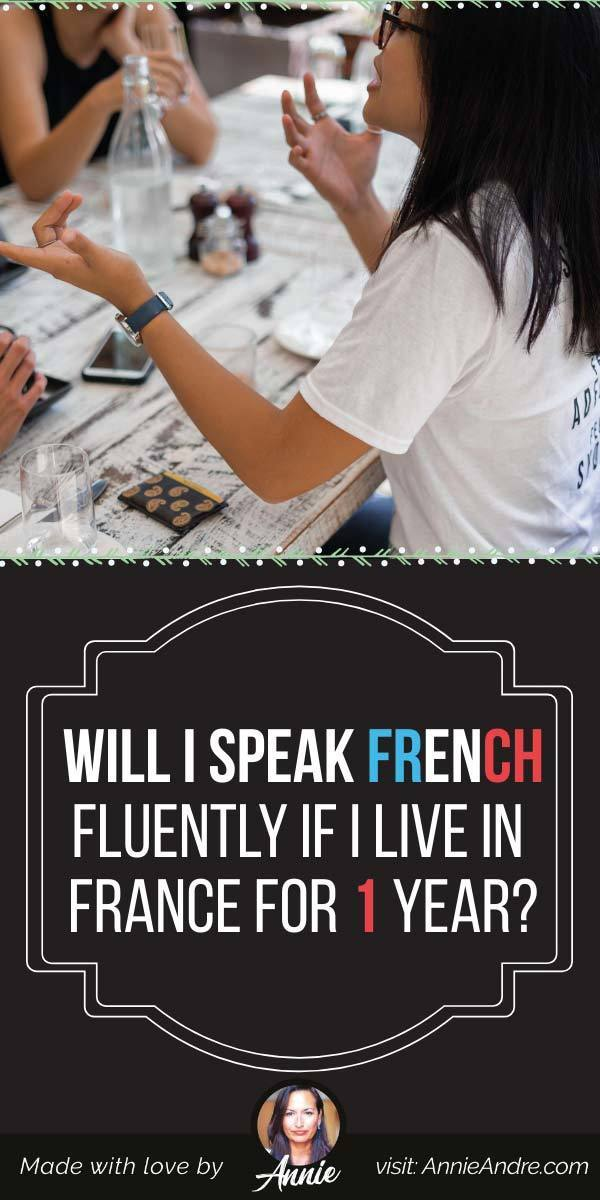pintrest French fluency: while you'll never speak French fluently