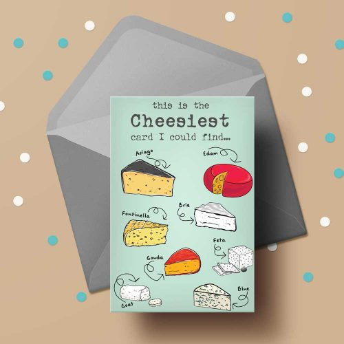 printable Greeting card: this was the cheesiest card I could find: (green)