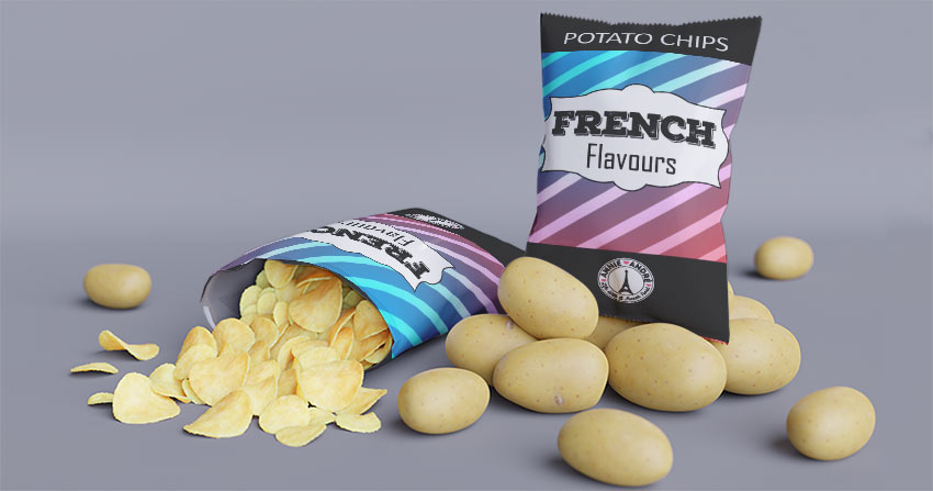 French potato chip flavours