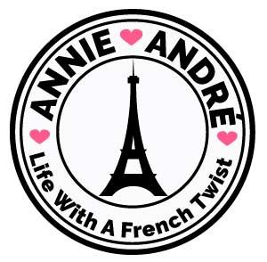 Annie Andre life with a French twist Blog Logo