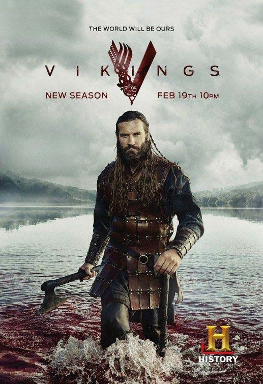 Vikings history chanel tv series. Ruler of Normandy in France