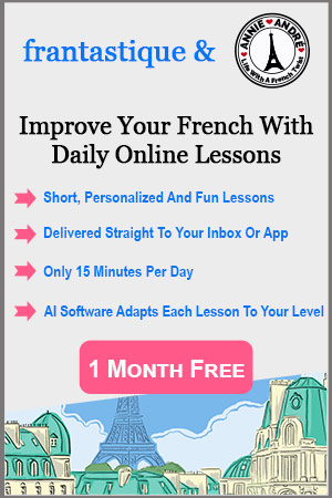 Online French lessons frantastique