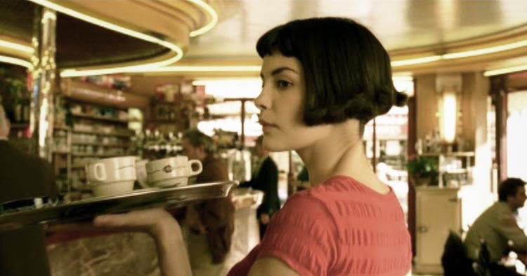 Cafe des 2 moulins in Paris where Amélie from the French cult movie worked as a waitress