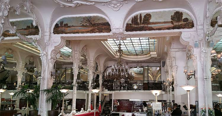 Le Grand café in Moulin France where Chanel sang and may have earned her nickname Coco
