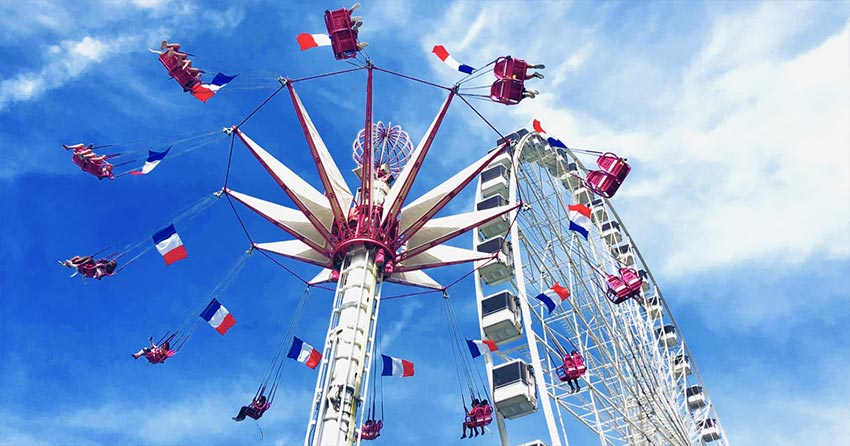 Best French theme Parks, Amusement parks and Fairs in France