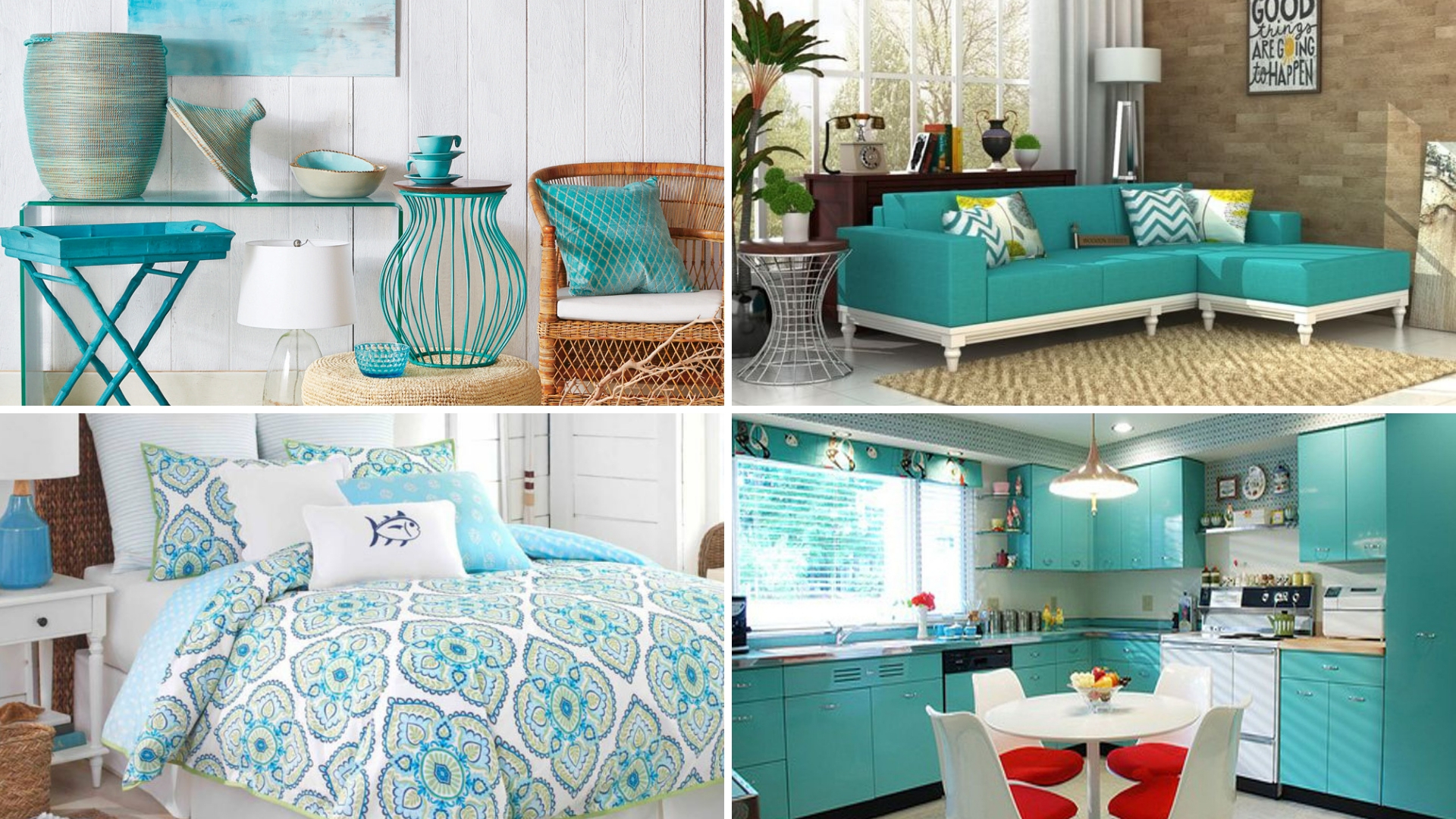 simphome turquoise home decor