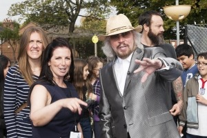 Event photography in Manchester image of Barry Gibb