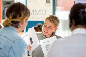 Educational photography for MMU in Manchester at student event