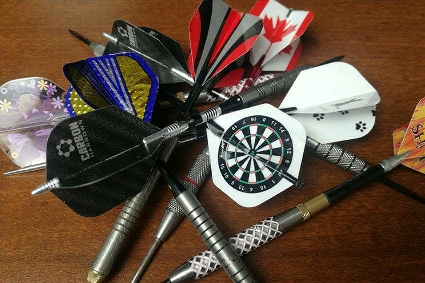 A pile of darts