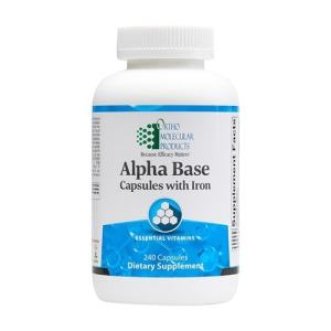 Alpha Base Capsules with Iron