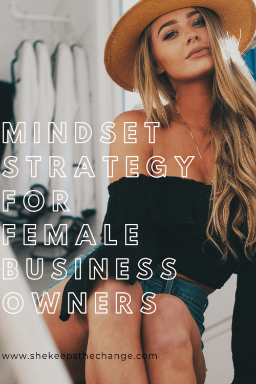 Mindset strategies for female business owners