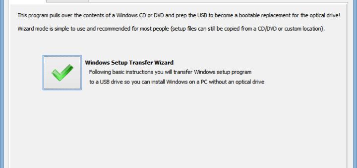 Easily create bootable Windows USB drive using WinToFlash