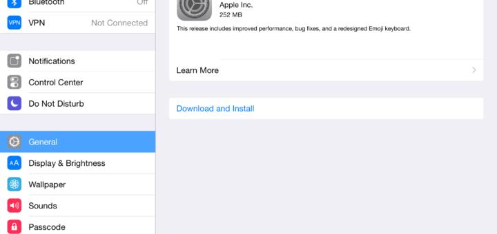 Download iOS 8.3 Update