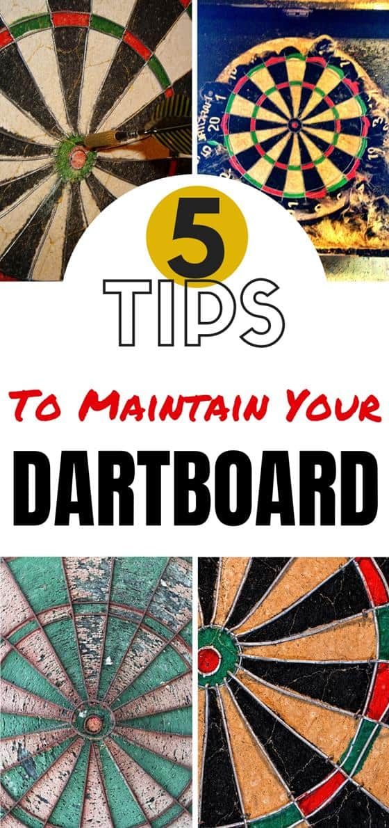 How To Take Care Of A Dartboard