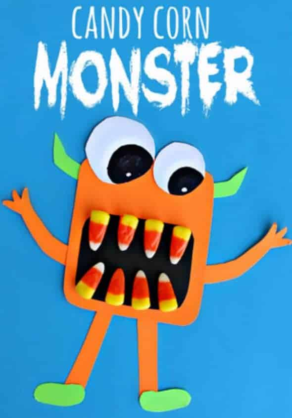 candy corn monster new