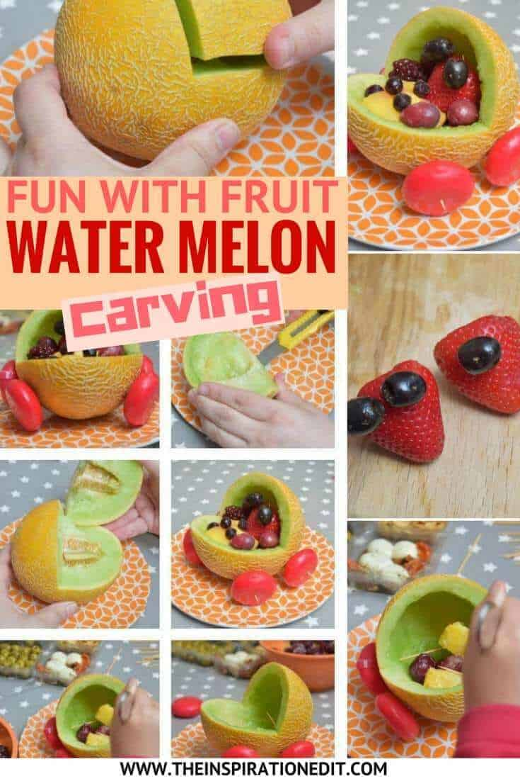 Fun With Fruit Water Melon Carving, an activity kids will enjoy!