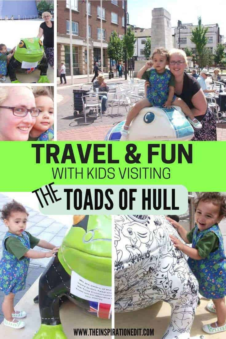 Larkin with Toads of Hull is a largest ever public art project that displays the giant, artist-decorated and colorful Toad Sculptures!